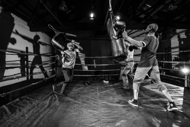 In the Ring. Bag Beatings. The Centre for the Less Good Idea, Johannesburg