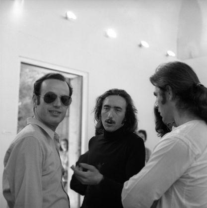 Inaugurazione del Padiglione Italia alla Biennale del 1972 © AAF-ArchivioArte Fondazione Cassa di Risparmio di Modena
