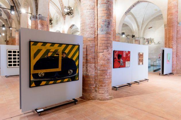 Io non amo la natura - Pop Art Italiana dalle collezioni della GAM-Torino, Complesso Monumentale di San Francesco, Cuneo, ph. Francesco Doglio