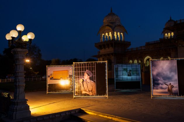 Jaipur Photo Festival 2017. Installation view at Albert Hall Museum. Photo Paulo Simao