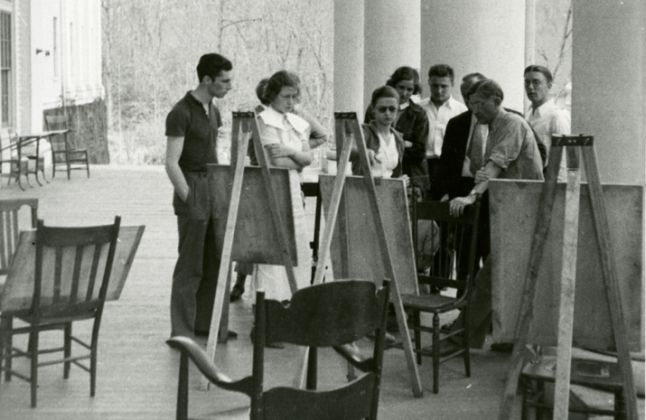 Josef Albers al Black Mountain College