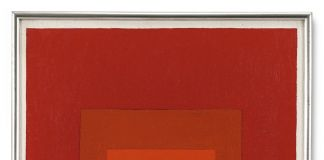"""Joseph Albers, Study for Homage to the square """"Sel E.B.1, 1969, Sotheby's (€ 631.500)"""