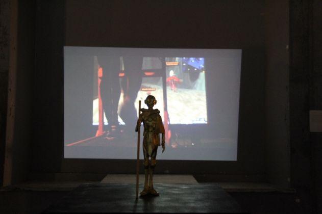 Joseph DeLappe, GoldGandhi. Media Art Festival, Maxxi, Roma 2017