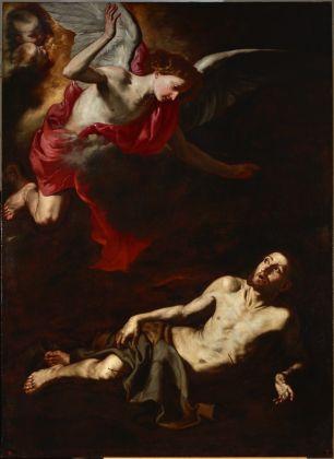 Jusepe de Ribera, San Francesco si getta in un rovo di spine, 1630-32, Palacio Real de Madrid, courtesy Patrimonio Nacional