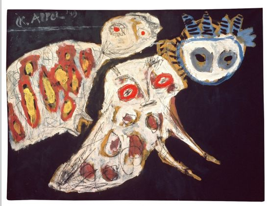 Karel Appel, Oiseaux de nuit, 1949