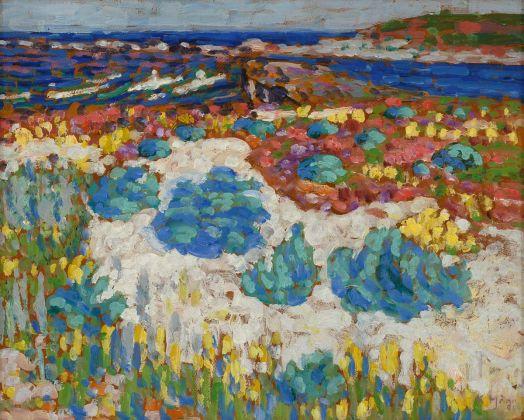 Konrad Mägi, Saaremaa. Study, 1913-14
