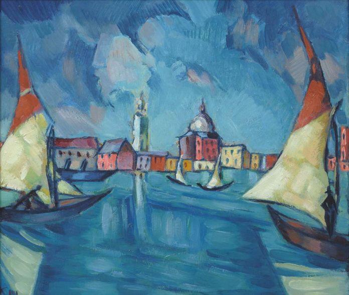 Konrad Mägi, Venice, 1922-23