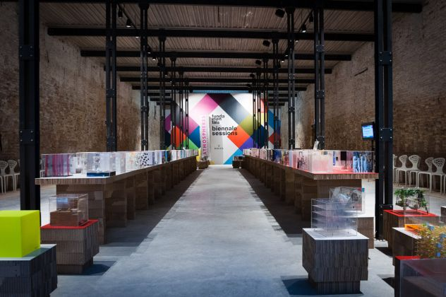 La Biennale Sessions durante la 14. Mostra Internazionale di Architettura, Venezia 2014
