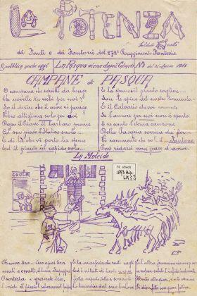 La Potenza, foglio di trincea, n. 3, 31 marzo 1918