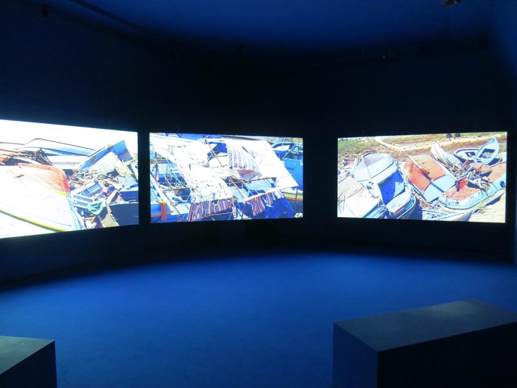 La Terra Inquieta. Exhibition view at La Triennale di Milano, 2017