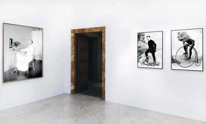 Lamberto Teotino. L'ultimo Dio. Installation view at Visionaria Art Space, Roma 2017. Courtesy of the artist & mc2gallery, Milano