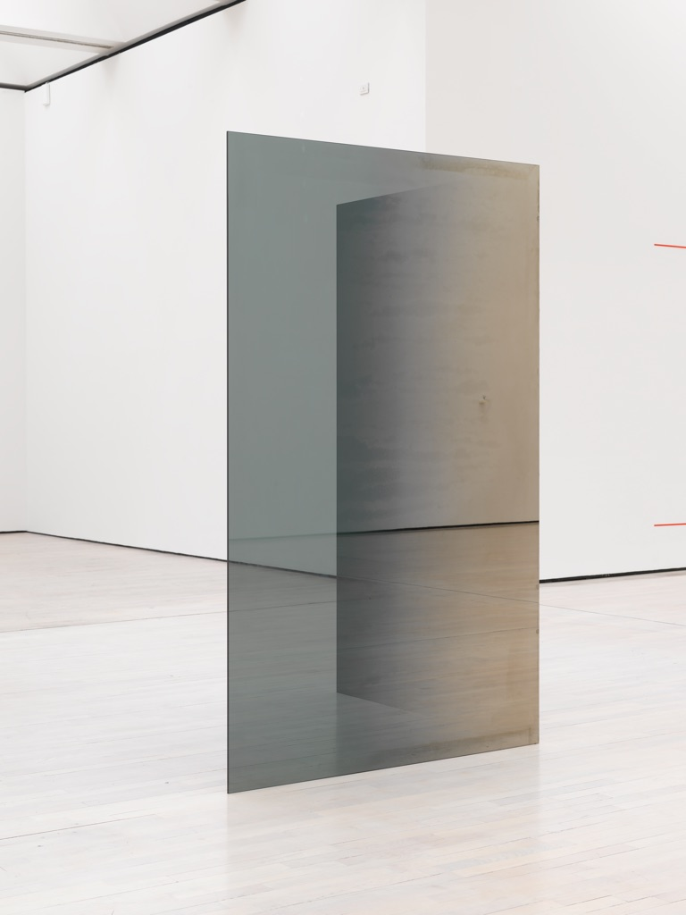Larry Bell, Two Glass Walls, 1971-72. Panza Collection, Mendrisio