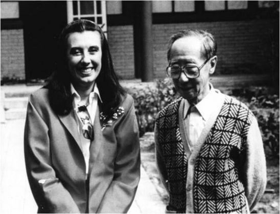 Laura Biagiotti e Pu Jie