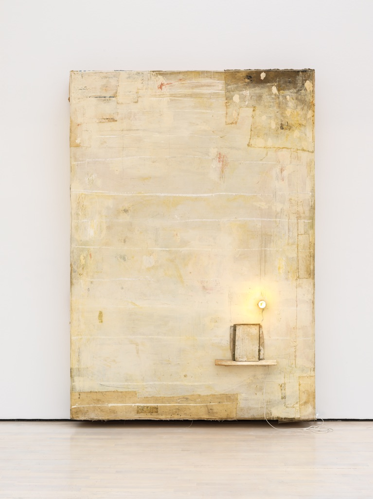 Lawrence Carroll, Painting, 1992-95. Panza Collection, Mendrisio