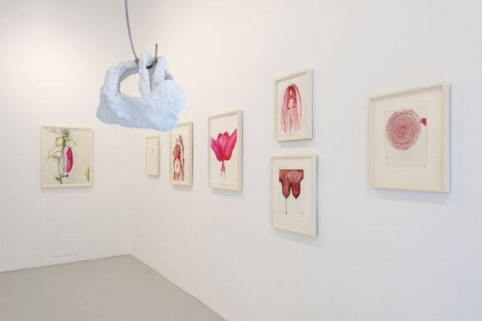 Louise Bourgeois. Voyages Without a Destination. Installation view at Studio Trisorio, Napoli 2017. Photo Francesco Squeglia