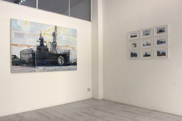 Lucia Lamberti. Sulle arie, sulle acque, sui luoghi. Exhibition view at Galleria FabulaFineArt, Ferrara 2017