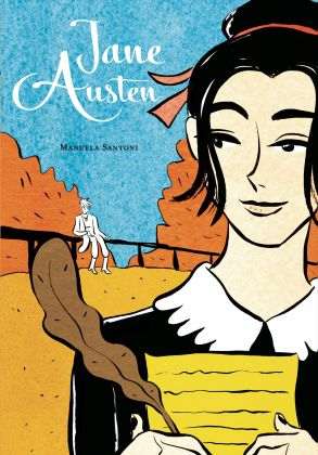 Manuela Santoni, Jane Austen (BeccoGiallo, 2017). Copertina