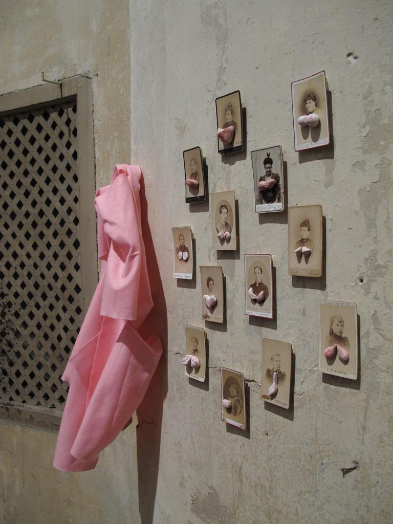 Marcella Vanzo. Segreto. Exhibition view at Chiesa di San Carlo e Sant'Agata, Reggio Emilia 2017