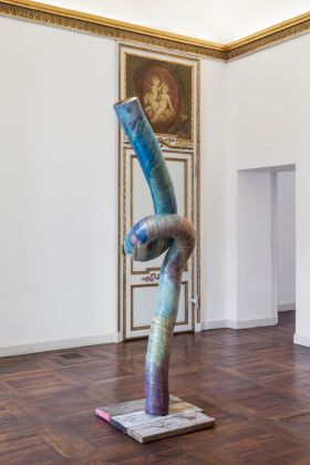 Mark Handforth. After Nature. Exhibition view at Galleria Franco Noero, Torino 2017