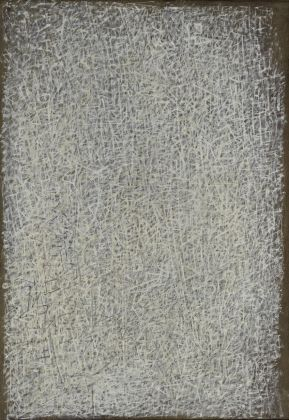 Mark Tobey, Crystallizations, 1944. Iris & B. Gerald Cantor Center for Visual Arts, Stanford University. © 2017 Mark Tobey _ Seattle Art Museum, Artists Rights Society (ARS), New York