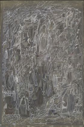 Mark Tobey, Threading Light, 1942. The Museum of Modern Art, New York. © 2017 Mark Tobey _ Seattle Art Museum, Artists Rights Society (ARS), New York