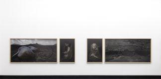 Matteo Basilé. Viaggio al Centro della terra. Installation view at Galleria Pack, Milano 2017