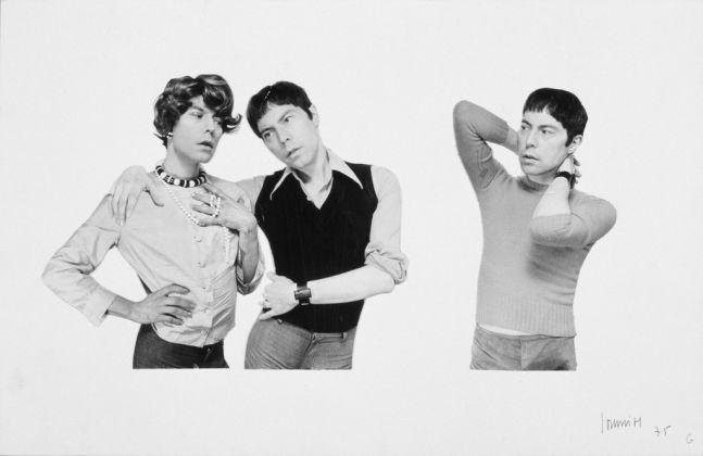 Michel Journiac, L'inceste, N°1. Fils-fille-amante / filsgarçon-amant / fils-voyeur, 1975 © Michel Journiac / ADAGP