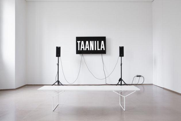Mika Taanila. Memoria esterna. Exhibition view at Rita Urso, Milano 2017. Photo Maxime Galati-Fourcade