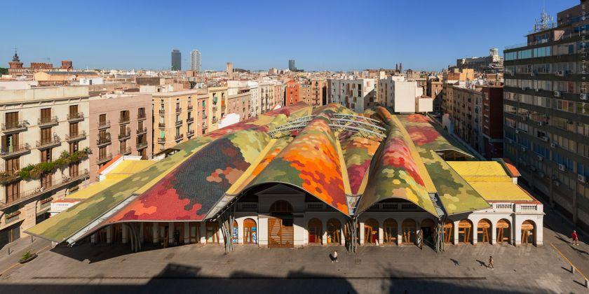 Miralles Tagliabue EMBT, Mercato di Santa Caterina, Barcellona, 1997-2004