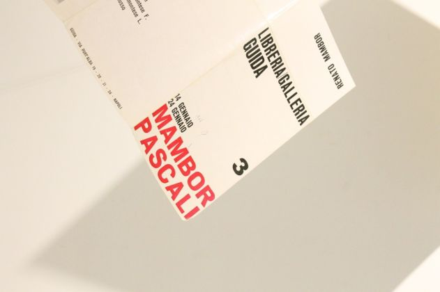 Mostra alla Galleria-Libreria Guida di Napoli, Mambor e Pascali. Photo Carlotta Barillà