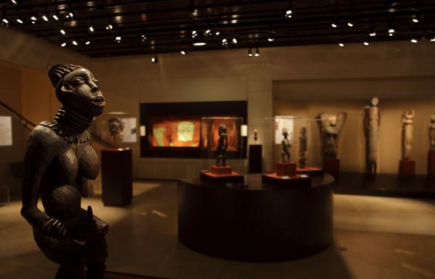 Museo Dapper - sala espositiva