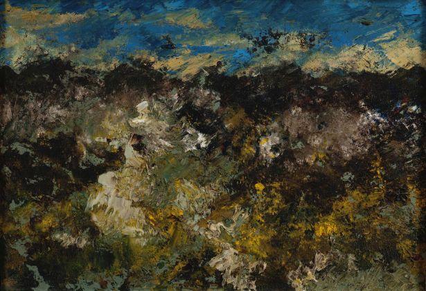 Salvatore Nocera, Senza Titolo, olio su tela, 54x38 cm (s.d. / 1965 ca.)