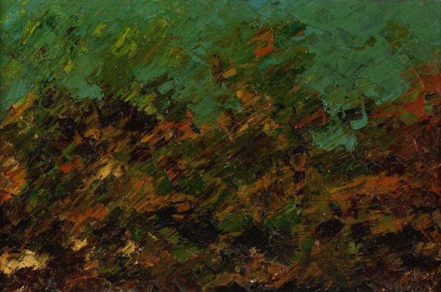 Salvatore Nocera, Senza Titolo, olio su tela, 34x23 cm (s.d. / 1975-80)