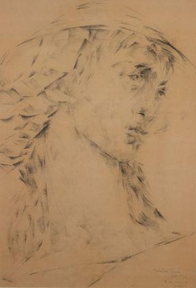 Salvatore Nocera, et hoc meminisse iuvabit, grafite su carta, 45x65 cm, 1958
