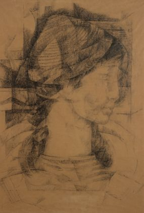 Salvatore Nocera, disegno preparatorio, grafite su carta, 45x65 cm, (s.d. / 1958ca.)