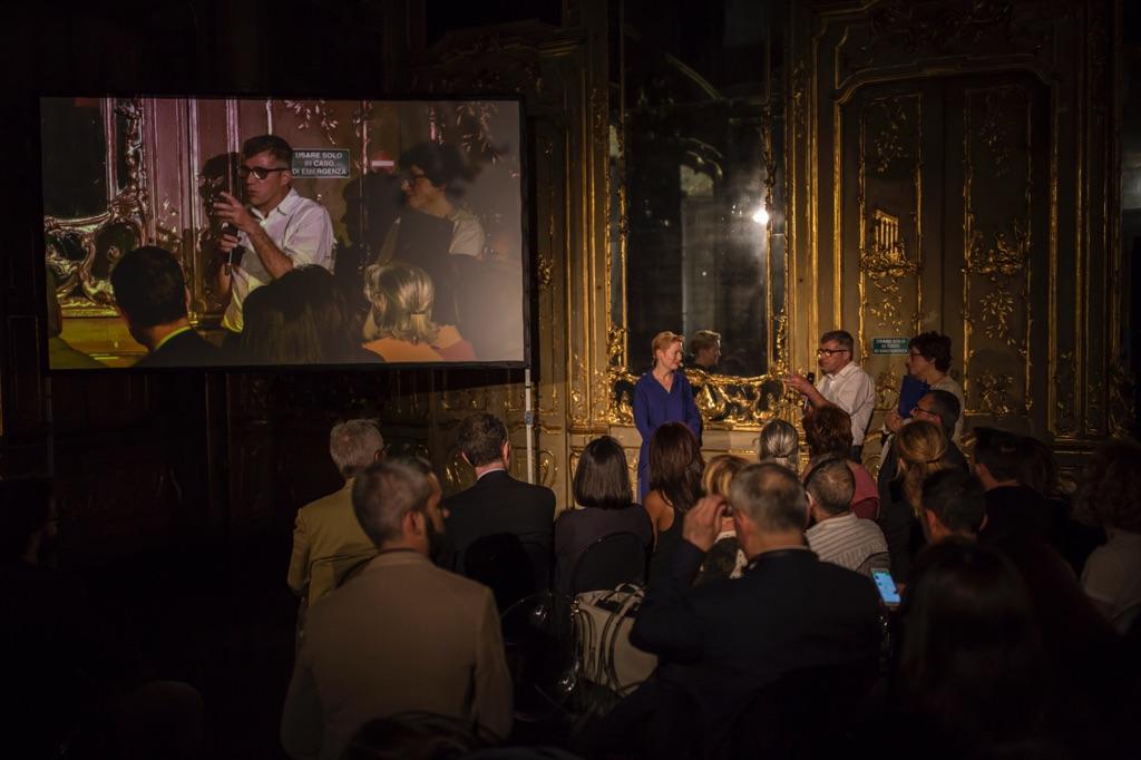 Nancy Proctor a Meet the Media Guru, Palazzo Litta, Milano 2017