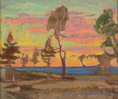 Nikolai Triik, Finnish Landscape, 1914