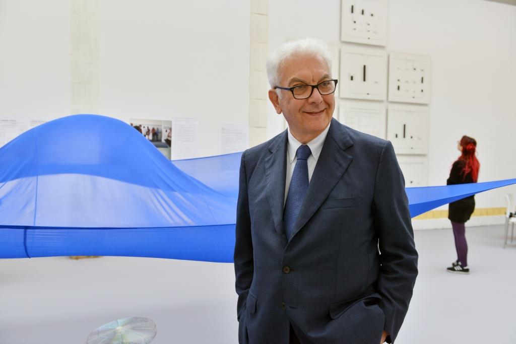 Paolo Baratta. Photo Andrea Avezzù. Courtesy La Biennale di Venezia