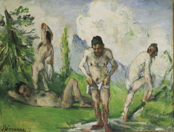 Paul Cézanne, Les Baigneurs au repos, 1875-76 ca., Collection des Musées d'art et d'histoire de la Ville de Genève. Photo Bettina Jacot-Descombes