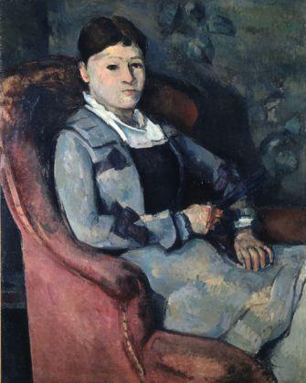 Paul Cézanne, Madame Cézanne à l'éventail, 1878-88 ca., olio su tela, cm 92 x 73, Fondation Collection E.G. Bührle, Zurigo
