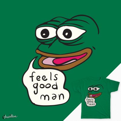 Pepe the Frog con t-shirt