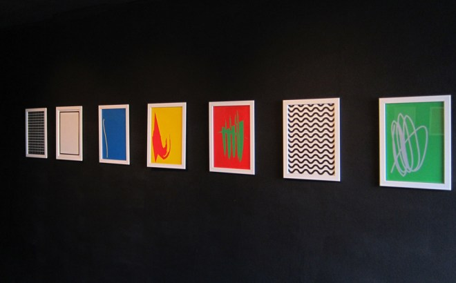 Perceptual Vertigo. Exhibition view at Avantgardengallery, Milano 2017