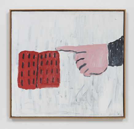 Philip Guston, Untitled, 1968. Acrilico su pannello, 76,2 x 81,3 cm. Collezione privata. © 2016 The Estate of Philip Guston / Hauser & Wirth