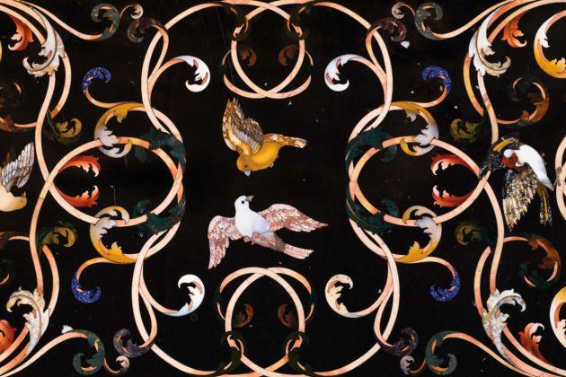 Piano di tavolo in pietre dure, Palazzo Pitti
