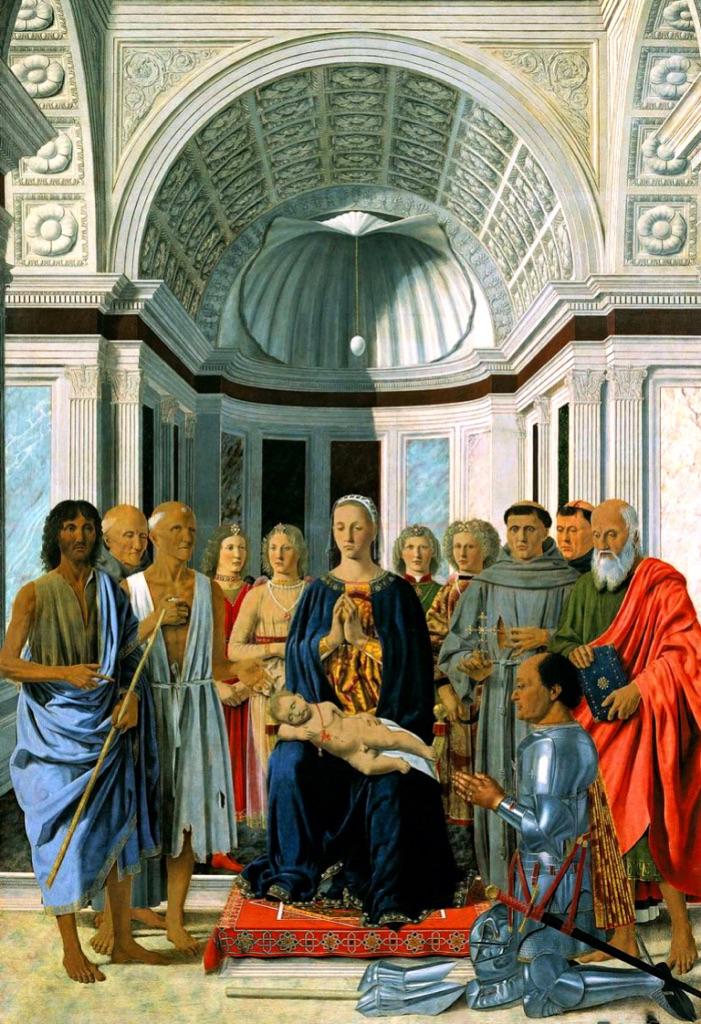 Piero della Francesca, Pala di Brera, 1472 ca.