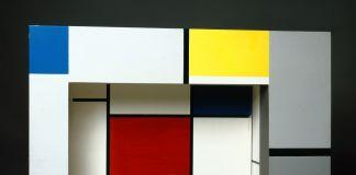 Piet Mondriaan, Toneelmaquette voor 'L'Éphémère est éternel' van Michel Seuphor. Photo Peter Cox