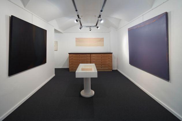 Pittura Analitica. Ieri e Oggi. Exhibition view at Mazzoleni Art, Torino 2017