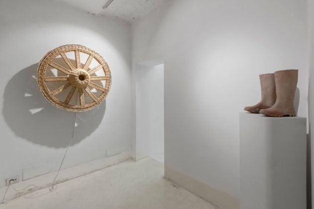 Rachel Labastie. Djelem, Djelem. Installation view at Ex Elettrofonica, Roma 2017. Photo Andrea Veneri