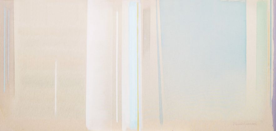 Riccardo Guarneri, Celeste luminoso, 2014