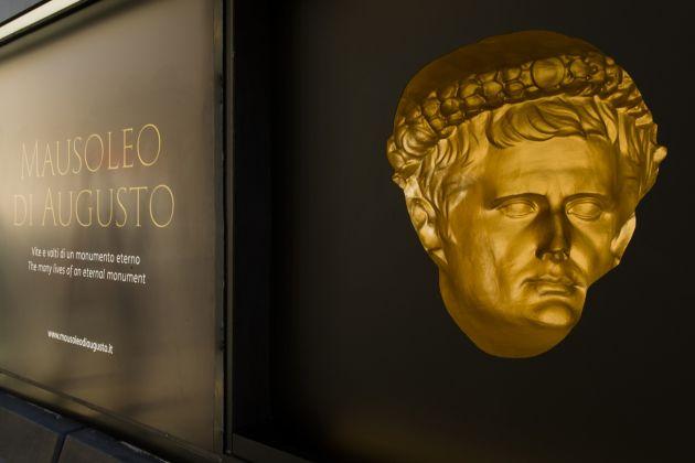 Rinascita del Mausoleo di Augusto, Roma Capitale e Fondazione TIM. Allestimenti esterni
